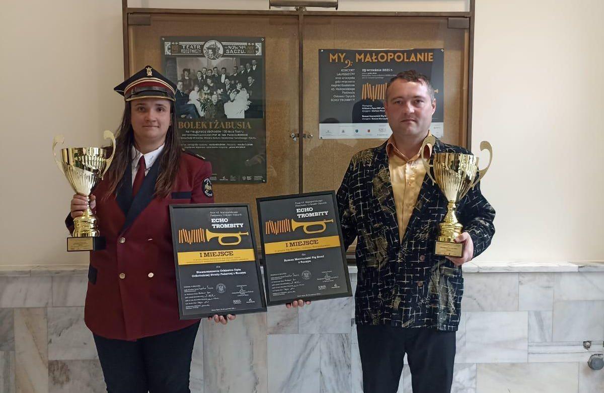 Muzycy z Roczyn wrócili z nagrodami z prestiżowego festiwalu