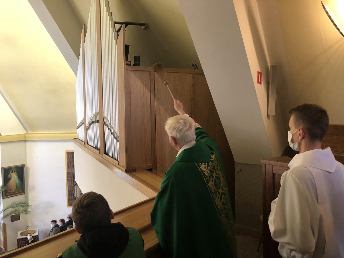 Nowe organy poświęcone. Sprowadzono je z zamkniętego w Holandii kościoła