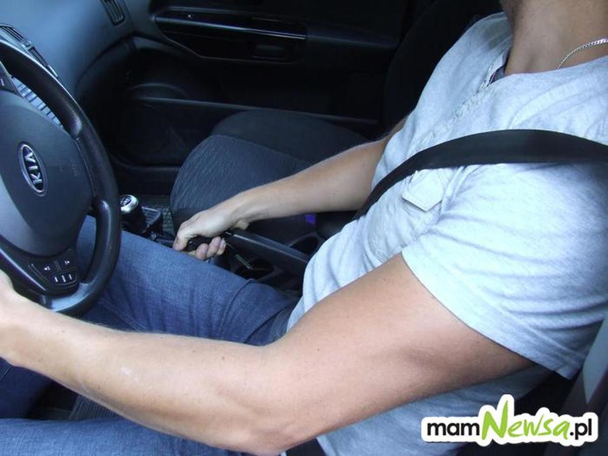 Nie miał prawa jazdy, ale wpadł z innego powodu