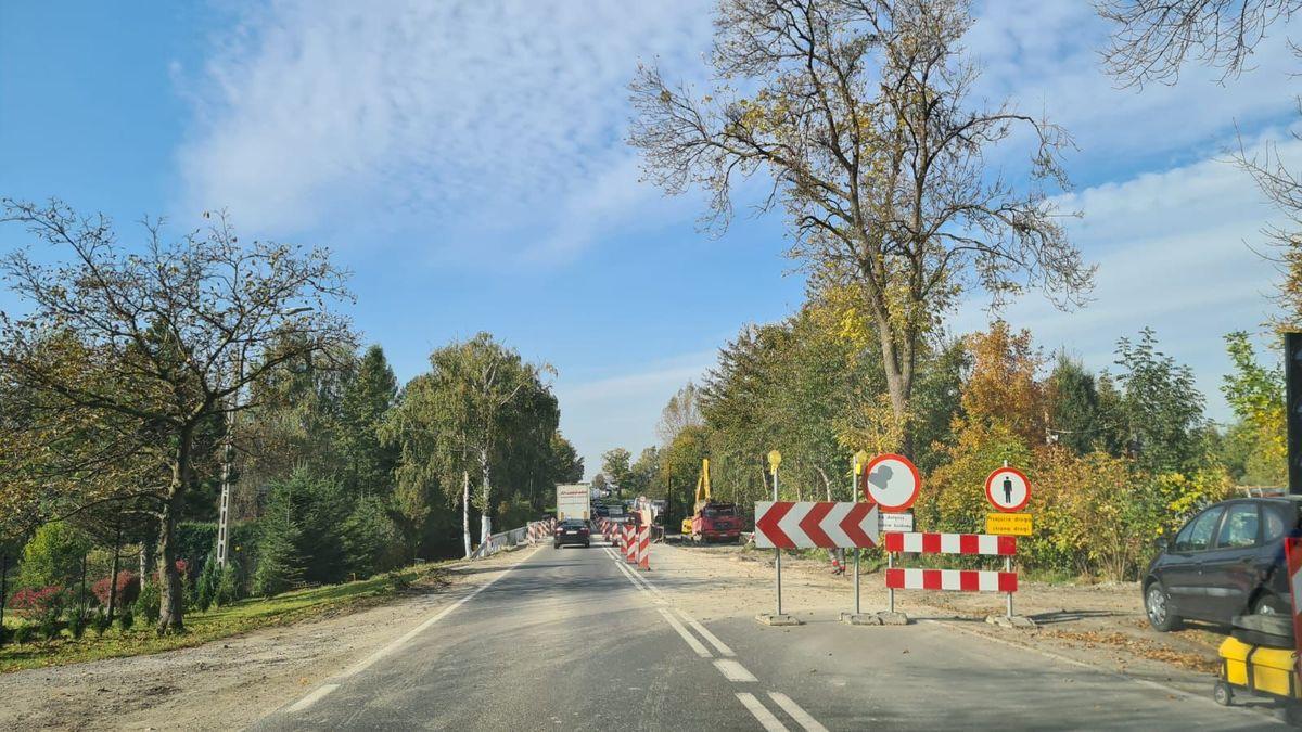 Do kiedy korki na trasie Andrychów - Wadowice?