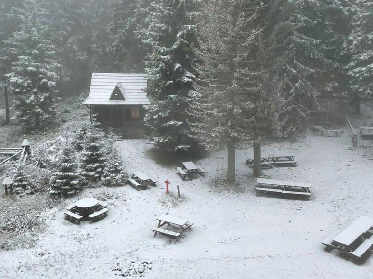 Zima podstępnie wkracza w nasze okolice