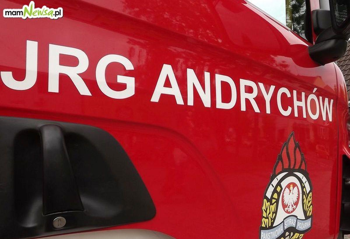 Nowy wóz dla straży pożarnej w Andrychowie