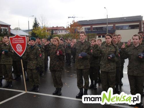 Klasa mundurowa złożyła przysięgę wojskową