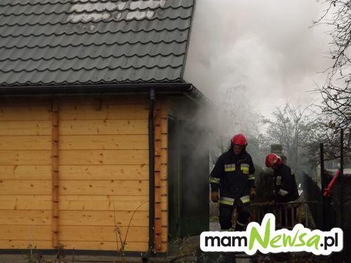 Pożar domku letniskowego [FOTO]