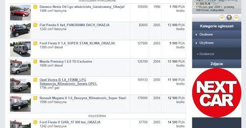 NEXT-CAR samochody używane z gwarancją. Nowa odsłona! www.nextcar.gratka.pl