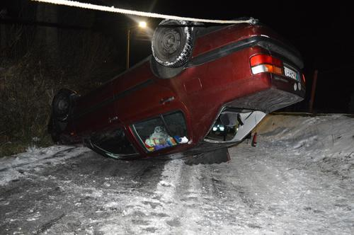 Fatalny dzień na drogach. Kolejne wypadki. Auto na dachu [FOTO]