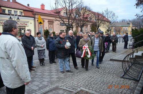 Pamiętali o rocznicy wyzwolenia Andrychowa