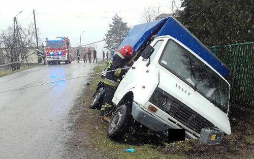 Tragiczny wypadek. Zginął kierowca