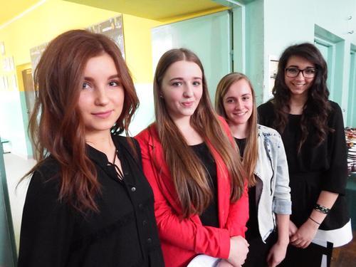 Znani i popularni z Andrychowa i okolic gościli u licealistów [FOTO]