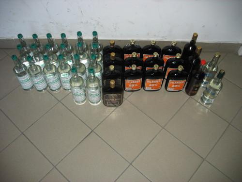 Słowak przewoził przez Andrychów nielegalny alkohol