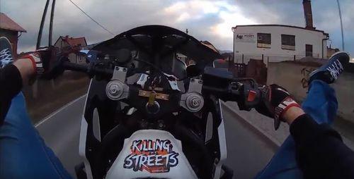Tak się jeździ na drodze Andrychów - Targanice [VIDEO]