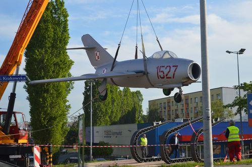 Samolot wrócił do Andrychowa [FOTO, VIDEO] AKTUALIZACJA