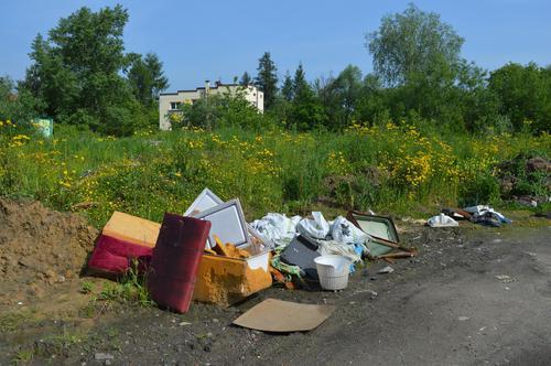 Mieszkańcy poczekają na usunięcie dzikiego wysypiska [FOTO] [AKTUALIZACJA]