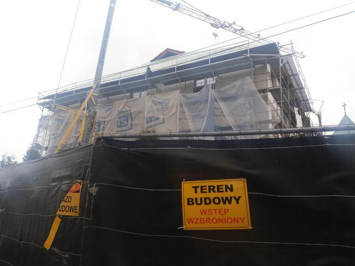 Trwa budowa domu dla księży [FOTO]