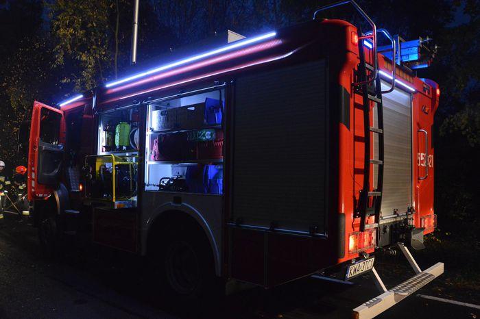 Trzy podobne pożary w jedną noc