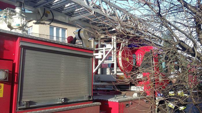 Kolejny pożar w budynku