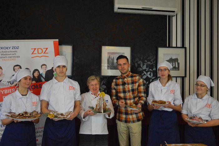 Gotuj z... uczniami Technikum Żywienia i Usług Gastronomicznych ZDZ Andrychów
