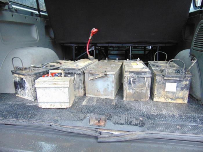 Złodziej akumulatorów zatrzymany