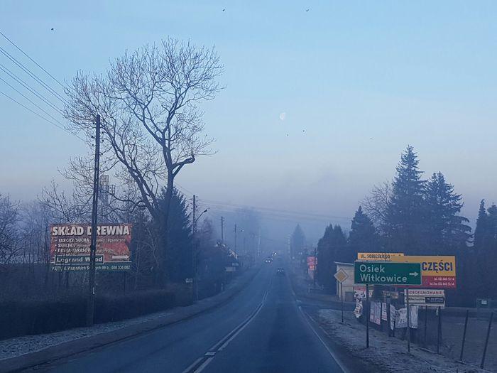 Cały region przykryła chmura smogu
