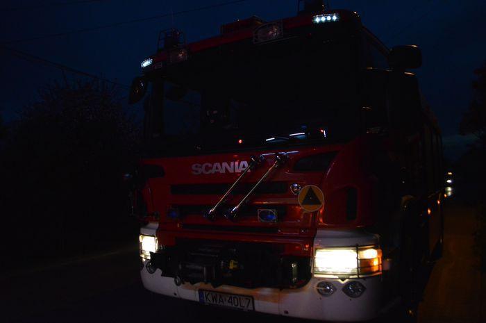 Spokojna noc sylwestrowa dla strażaków
