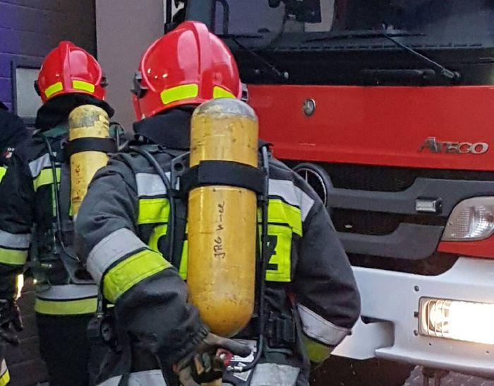Pożar sadzy, kolizja przed klasztorem i fałszywy alarm