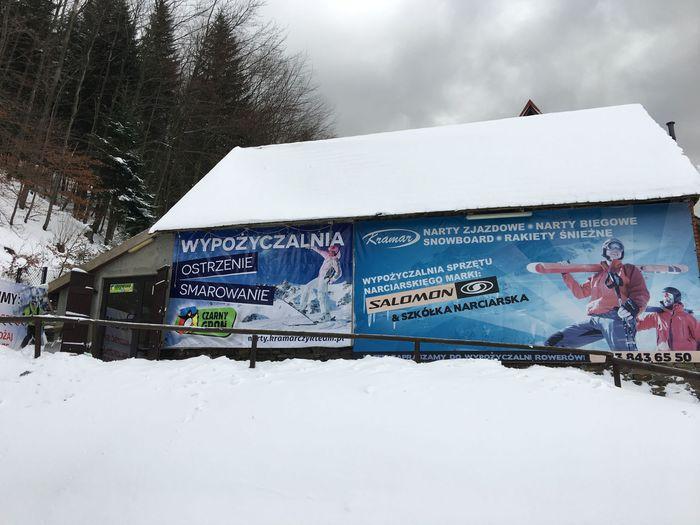 Wypożyczalnia sprzętu narciarskiego i serwis narciarski w Rzykach