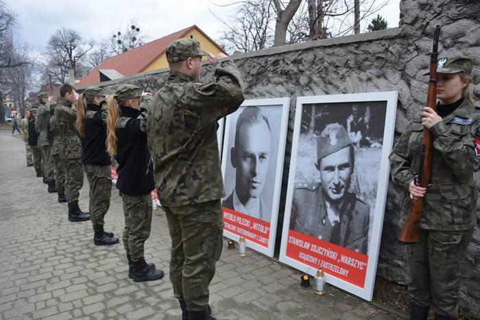 Uczcili Dzień Żołnierzy Wyklętych [FOTO]
