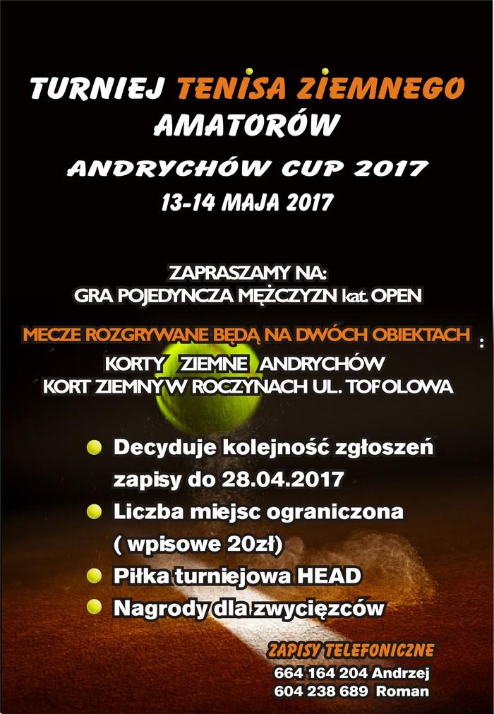 Pierwszy turniej tenisa ziemnego już w maju w Andrychowie i Roczynach