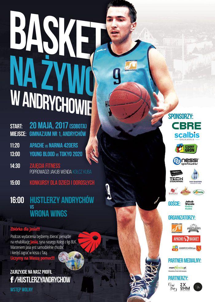 V Basket na Żywo w Andrychowie. 20 maja wielki dzień.