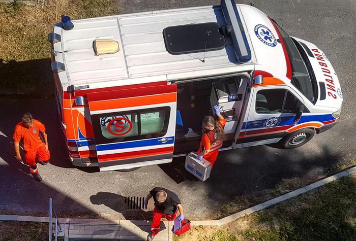 Trzy wypadki, w tym samym czasie, na drogach powiatu wadowickiego