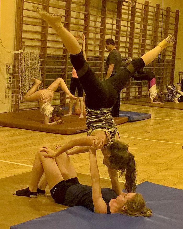 Zajęcia z akrobatyki w Kętach i w Andrychowie