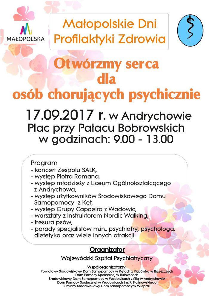W niedzielę akcja: Otwórzmy serca dla osób chorujących psychicznie