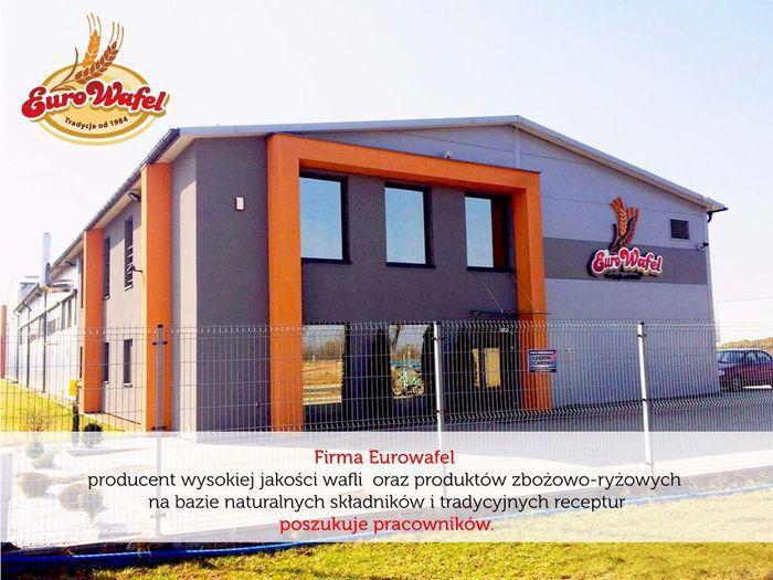 Firma Eurowafel. Oferty pracy