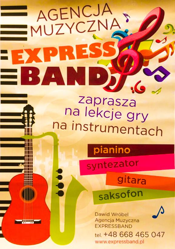 Lekcje gry na instrumentach