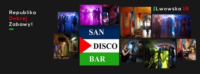 San Disco Bar zaprasza na weekendowe imprezy!