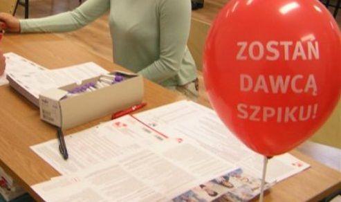 W niedzielę akcja rejestracji do bazy dawców szpiku kostnego