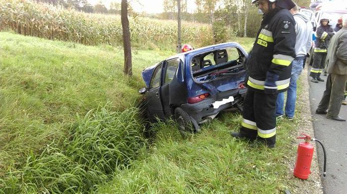 Dwa wypadki na tej samej drodze