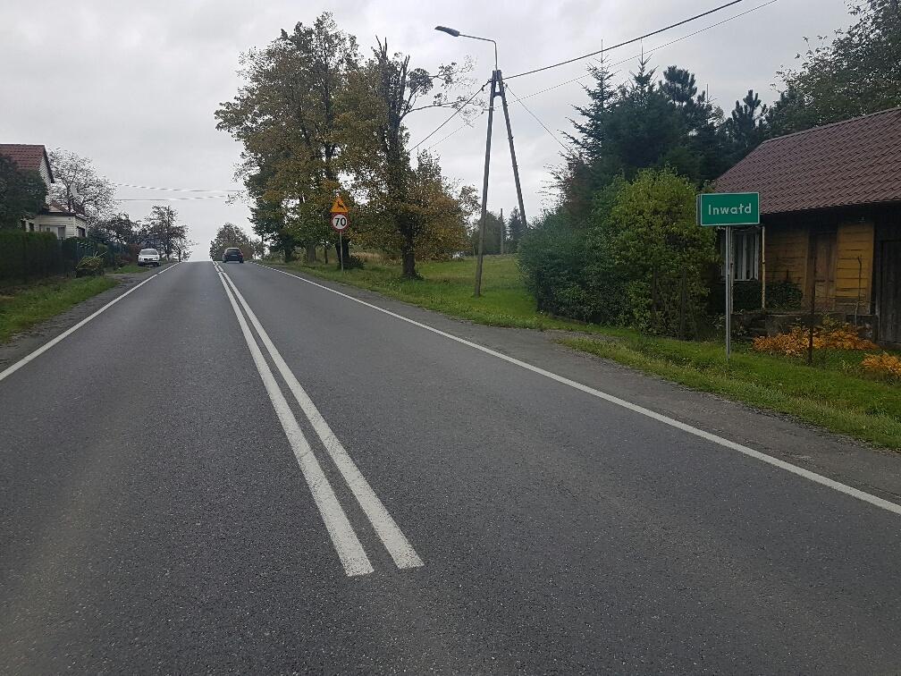 Nowa ulica w Inwałdzie