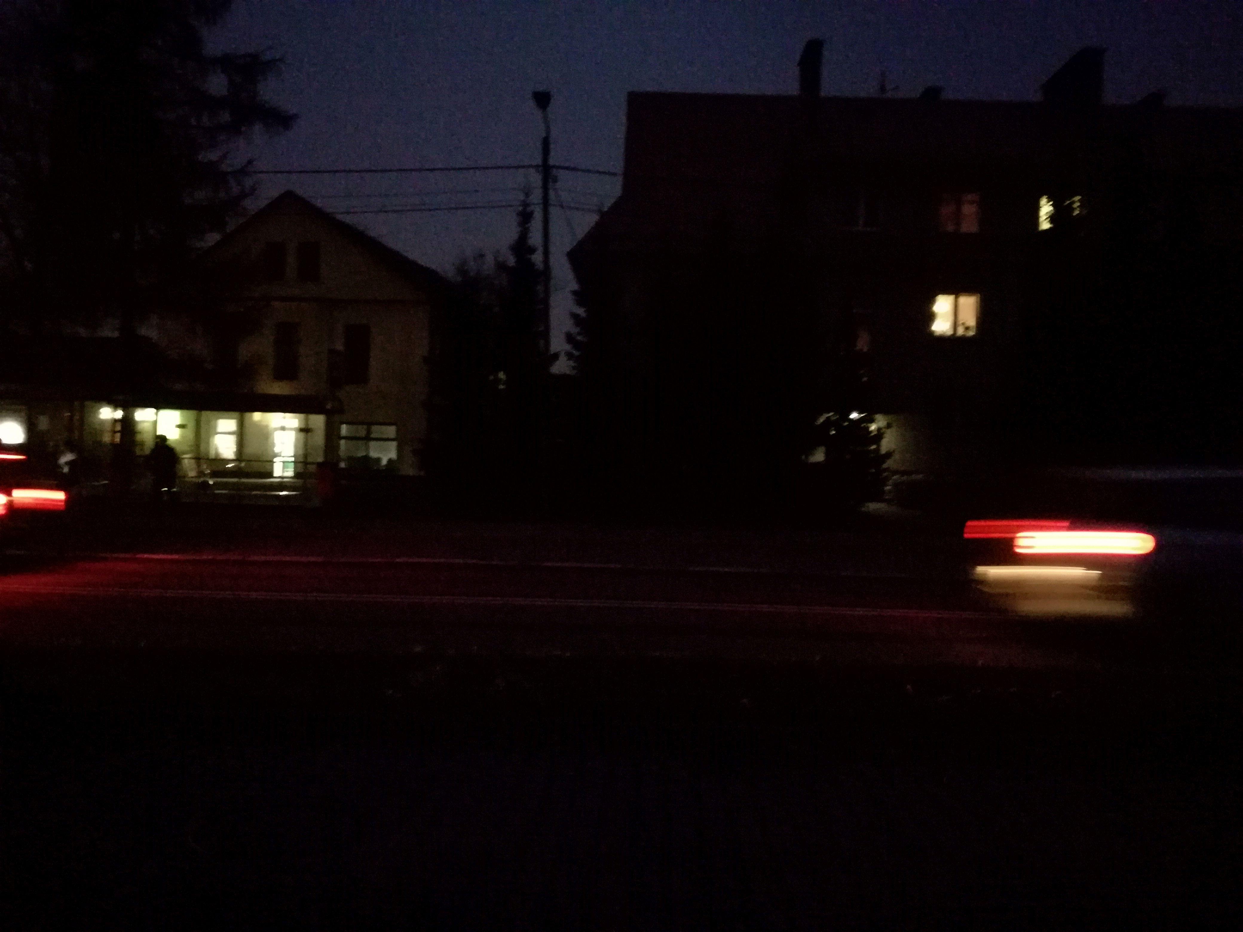 Ciemności na andrychowskich ulicach