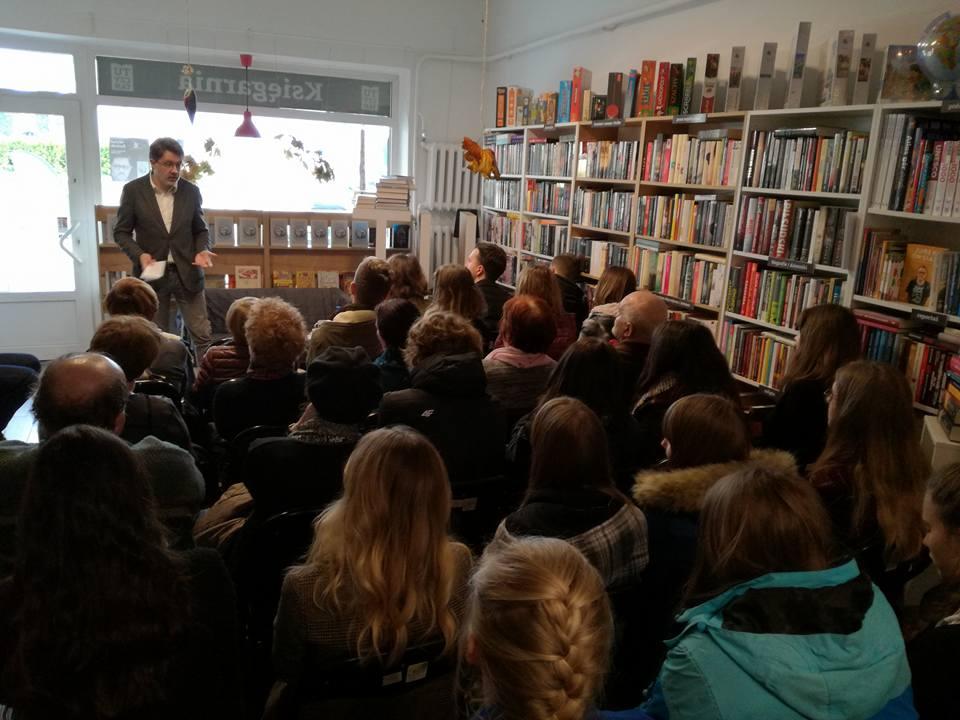 Księgarnia z klimatem. Był tu już Michał Rusinek, a wkrótce przyjedzie Jacek Fedorowicz.