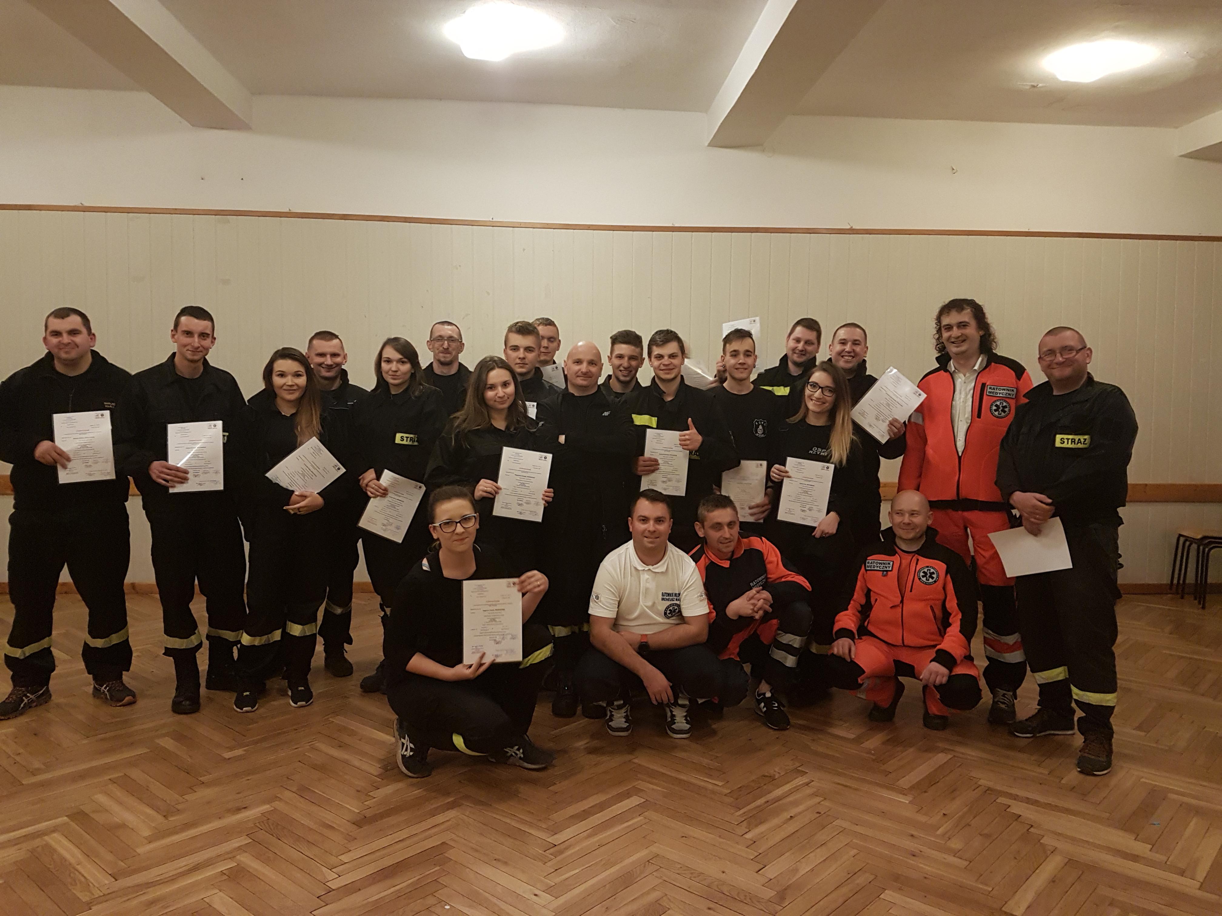 Strażacy od teraz są też ratownikami [FOTO]