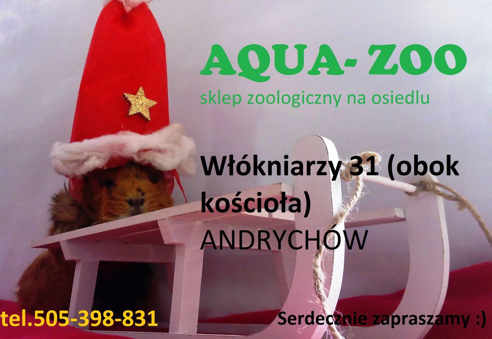 AQUA-ZOO. Sklep zoologiczny na osiedlu zaprasza wszystkich miłośników zwierząt!