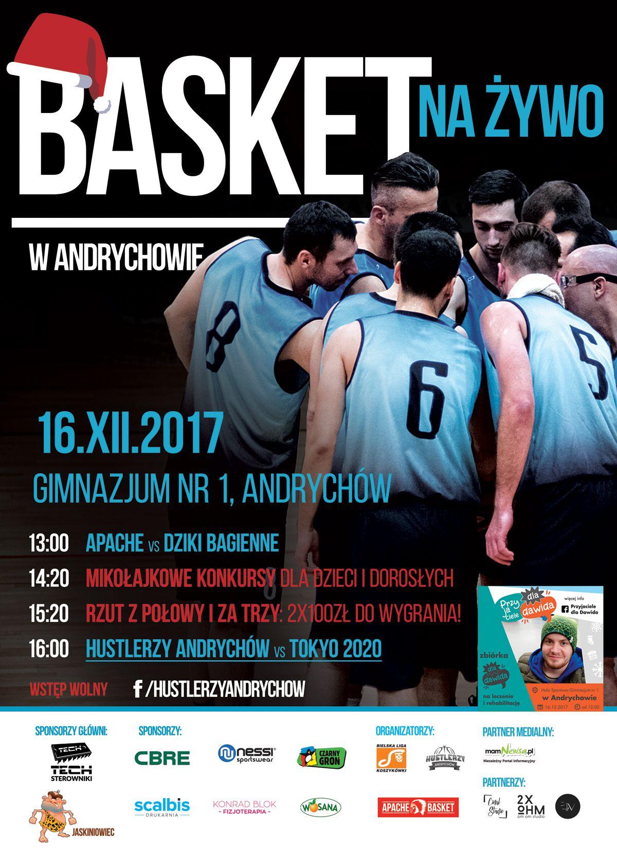 Basket Na Żywo w Andrychowie - Edycja Mikołajkowa [FOTO]
