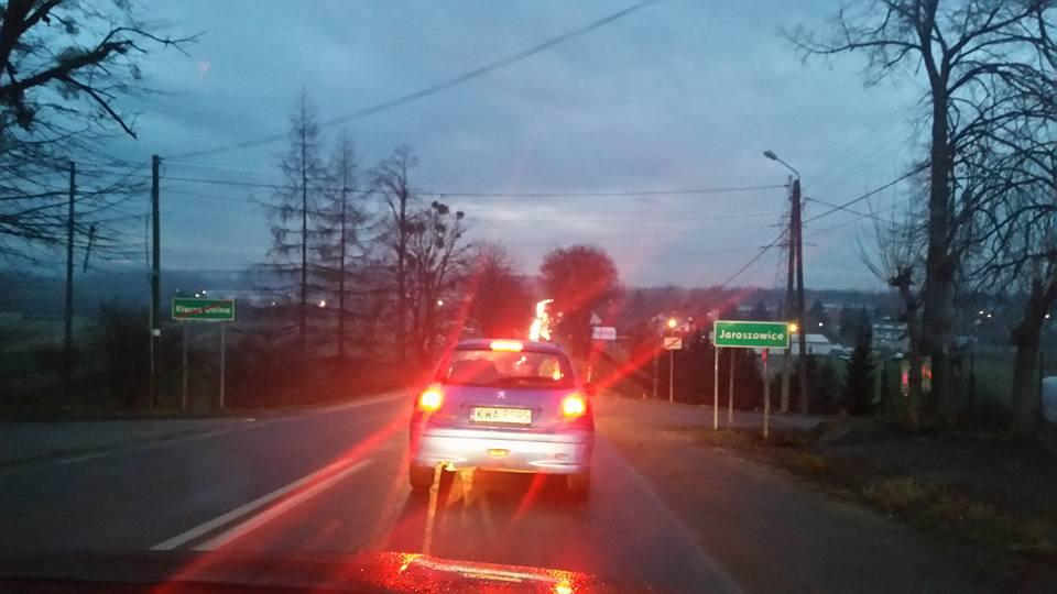 Dramat kierowców w Wadowicach. 4,5 km w godzinę!