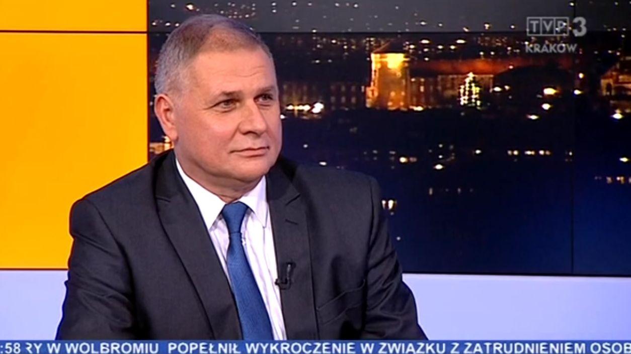 Burmistrz chwali się nową komunikacją w TVP Kraków