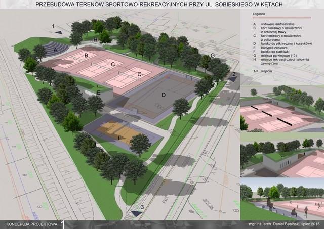 Pięć nowych boisk przy ulicy Sobieskiego