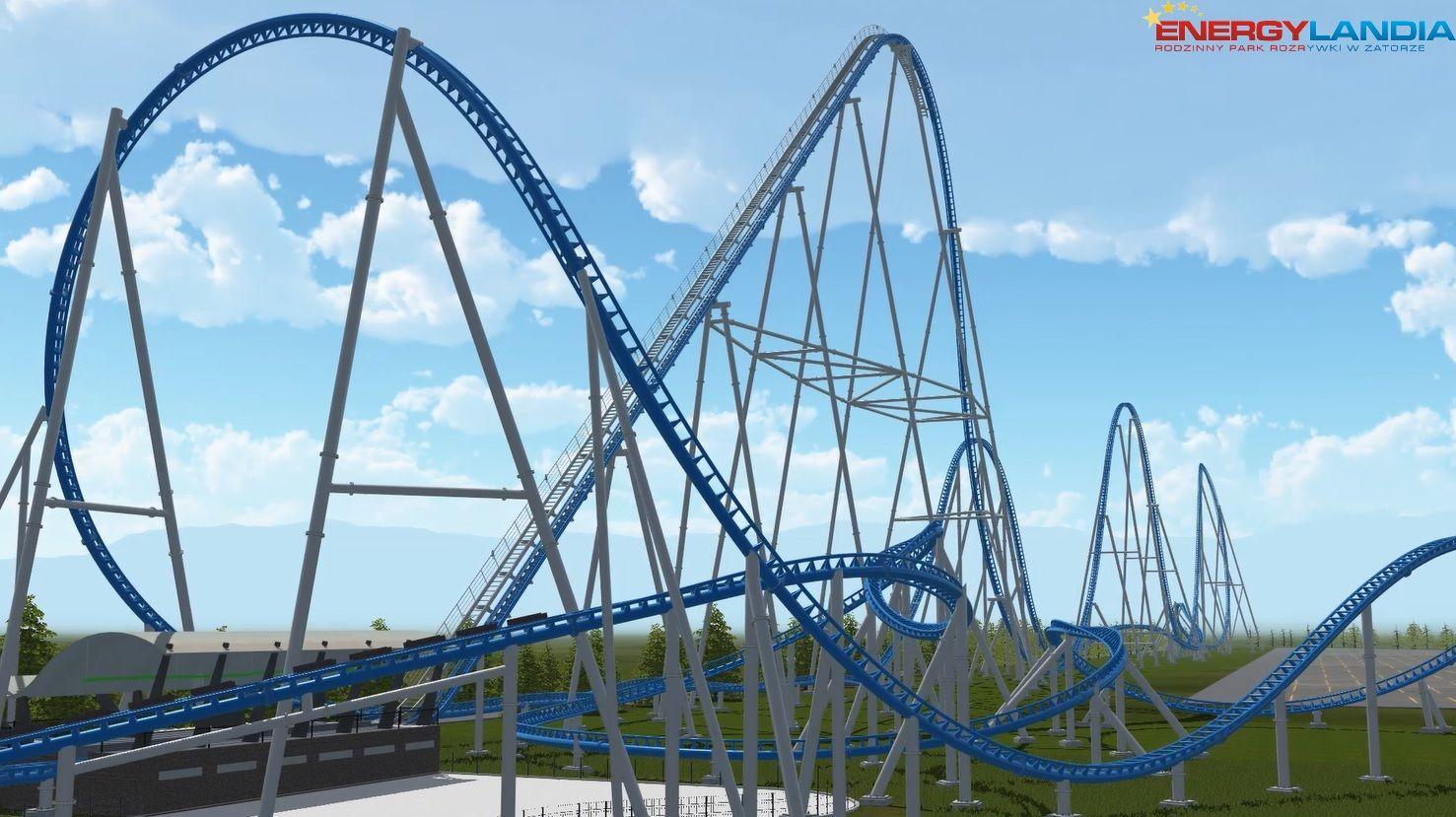 Jak powstaje największy mega coaster w Europie? [FOTO]