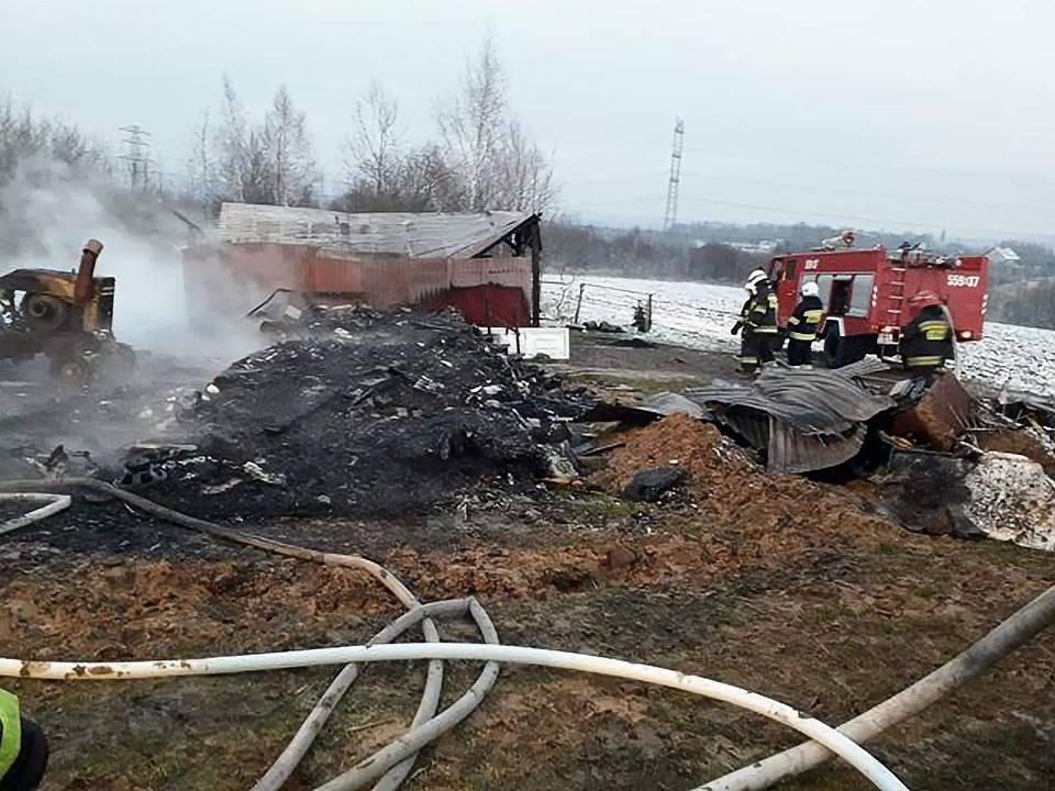 Apel o pomoc po pożarze