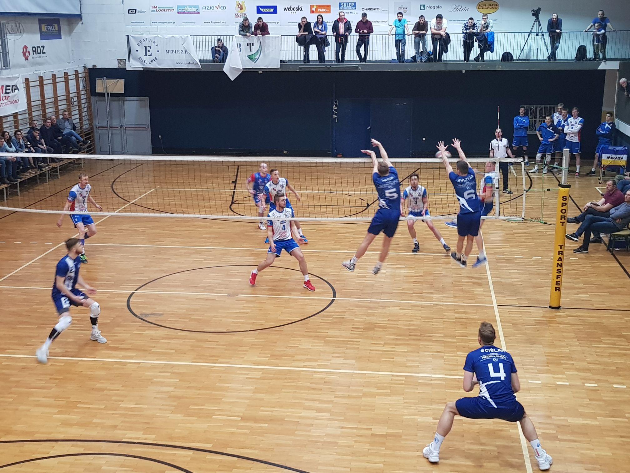 Andrychów kontra Kęty w II lidze siatkarzy