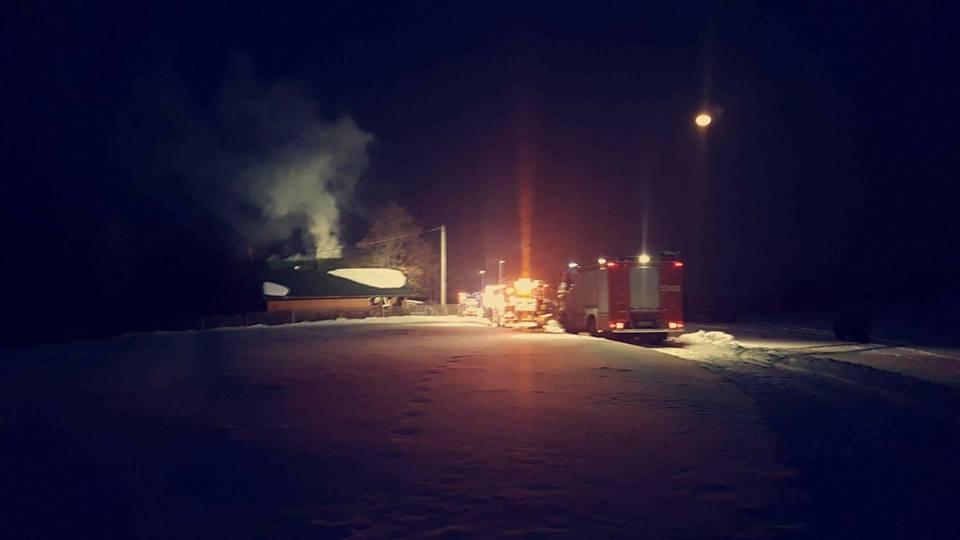 Duże straty po pożarze drewnianego domu